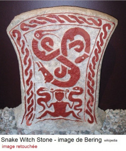 snake witch gotland 400-600 AD